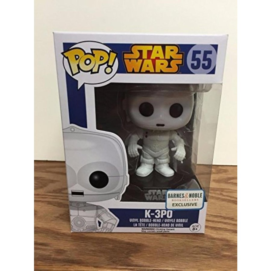 K-3PO #55 Star Wars BARNES & NOBLES EXCLUSIVE Funko Pop Vinyl Bobblehead