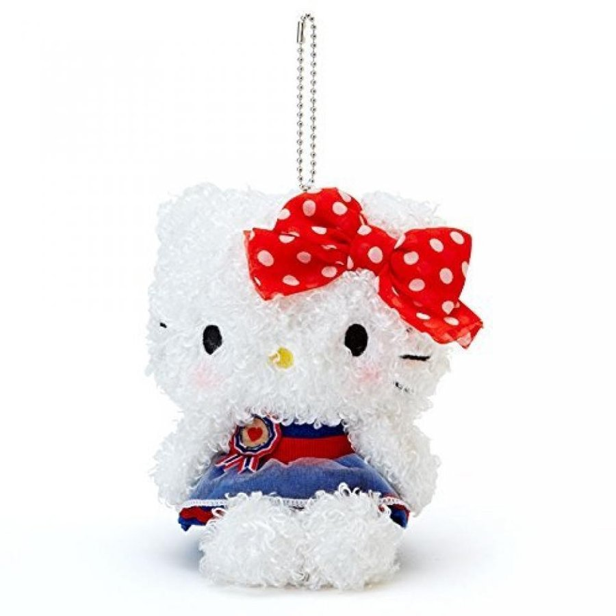 Hello Kitty fluffy mascot
