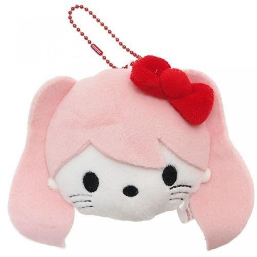 Hello Kitty [mascot] stuffed Face Ball Chain / Chanri your Characters Sanrio