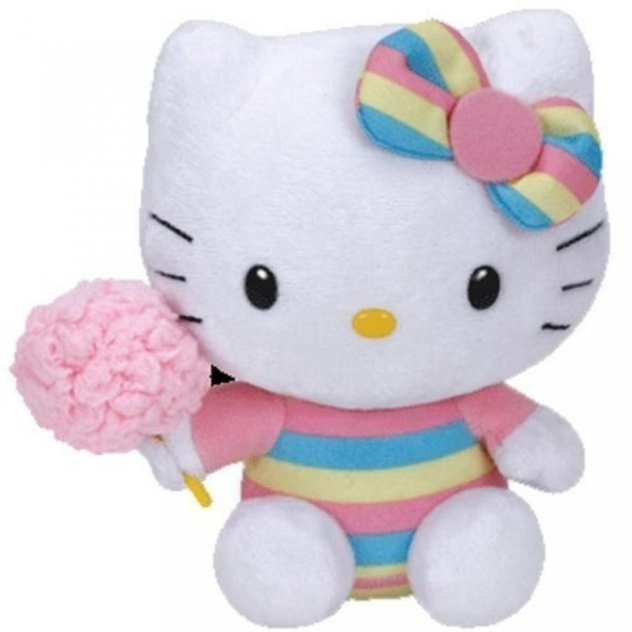 Ty Thailand Hello Kitty Hello Kitty M size cotton candy [stuffed] 41143