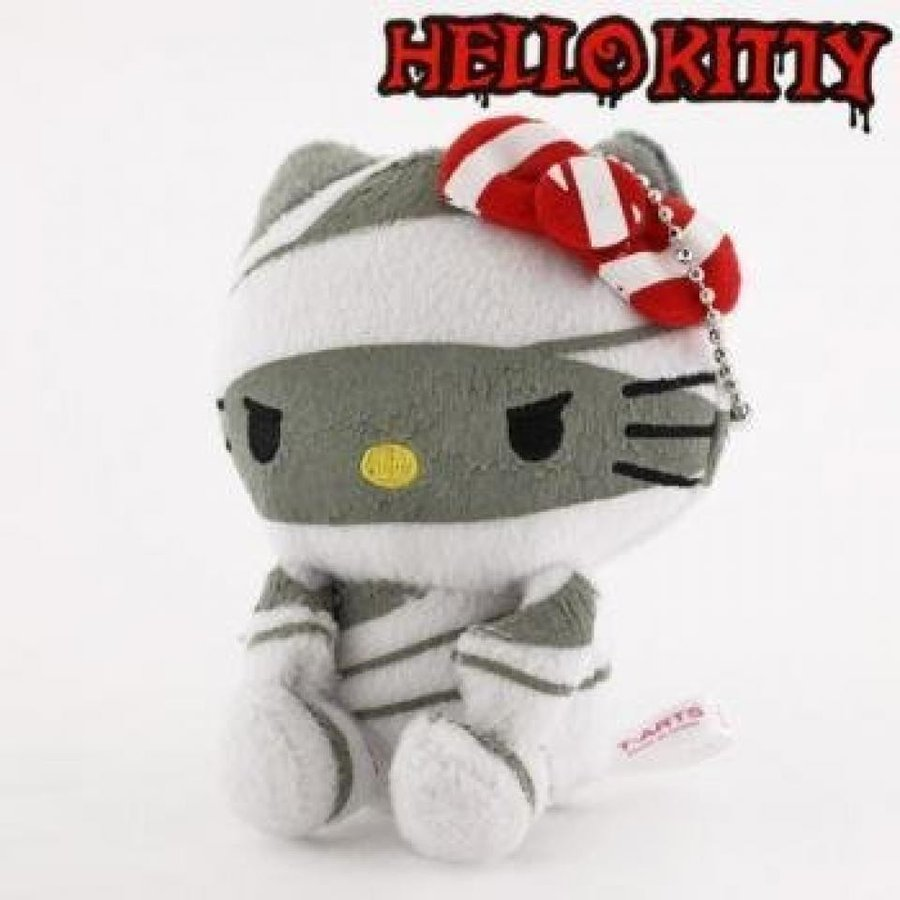 Hello Kitty Mega Monster Costume Collection ball chain with a mascot (bandage)