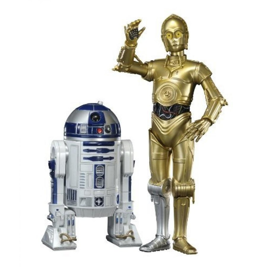 ArtFx Star Wars C3PO /& R2D2 set of 2 Action Figure Kotobukiya