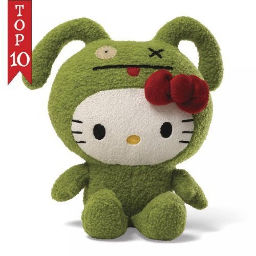 Hello Kitty Ugly Doll Ox - 7 in Plush by Uglydoll