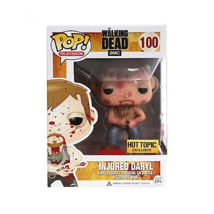 Rare The Walking Dead Pop! Television Bloody Inju赤 Daryl EXCLUSIVE by FunKo by FunKo