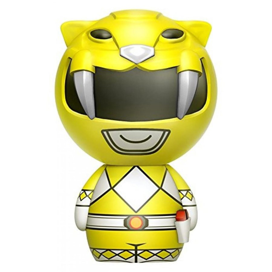 Funko Dorbz: Power Rangers 黄 Ranger Toy Figure