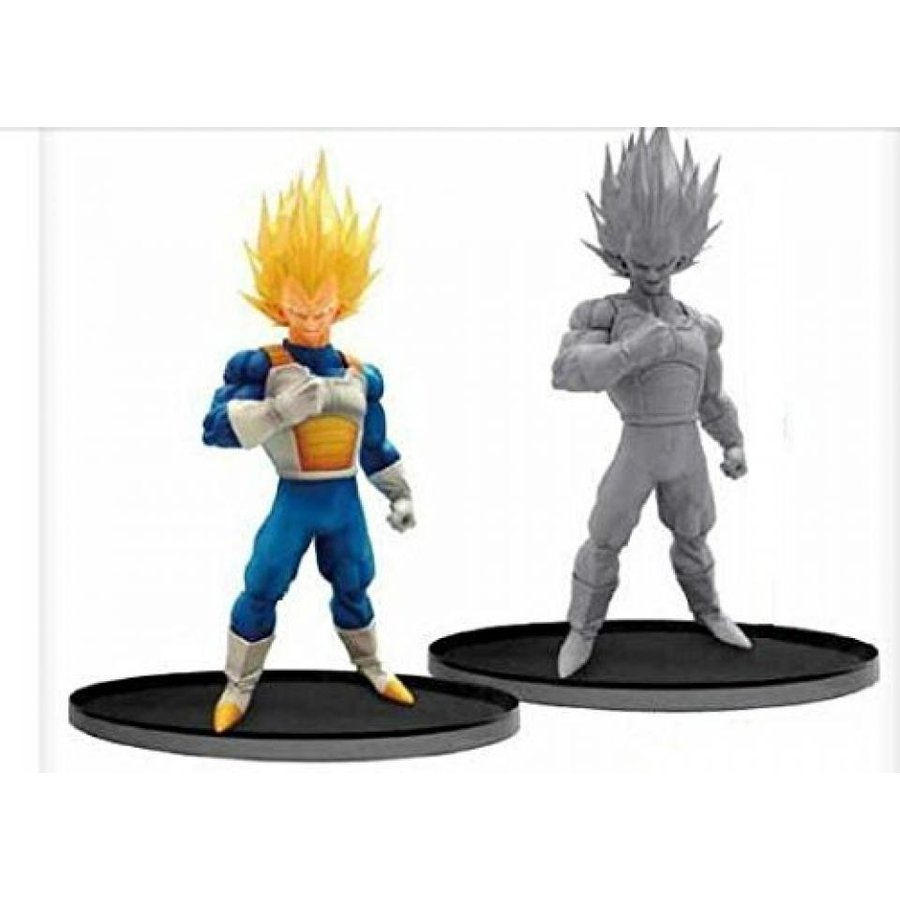 Dragon Ball Super SCultures BIG 6 Special Vegeta Figure Set of 2
