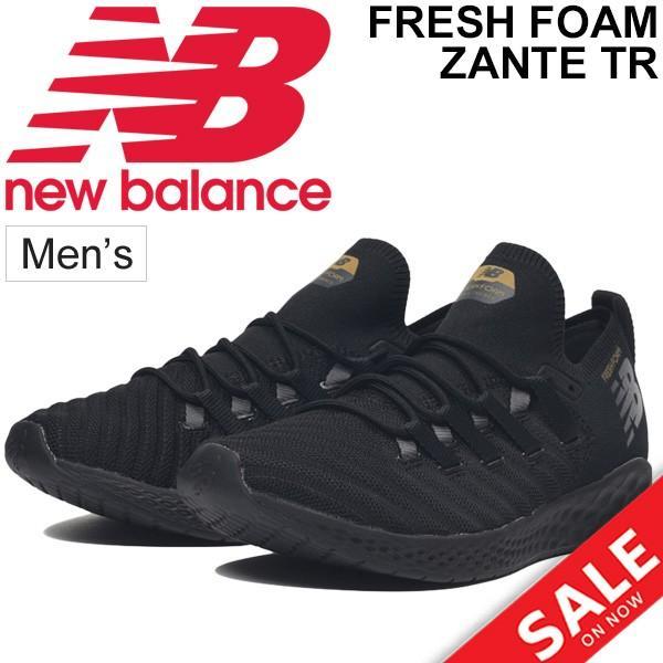 トレーニングシューズ メンズ newbalance ニューバランス FRESH FOAM ZANTE TR M/ランニング ジョギング ジム フィットネス 男性用 2E 靴/MXZNT