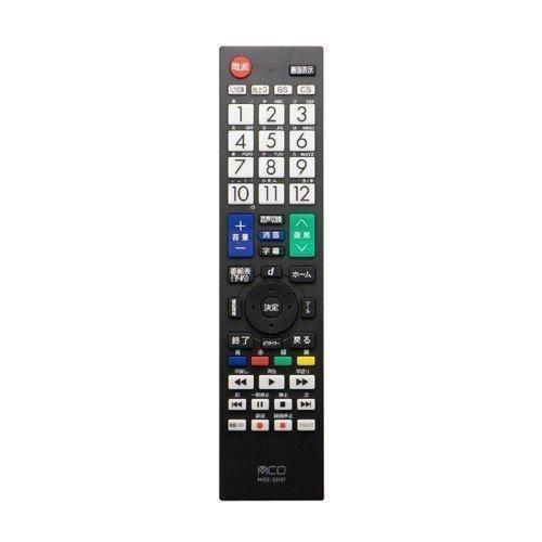 MCO 送料0円 シャープ アクオス専用 MRC-SH01 早割クーポン 地上デジタル用テレビリモコン