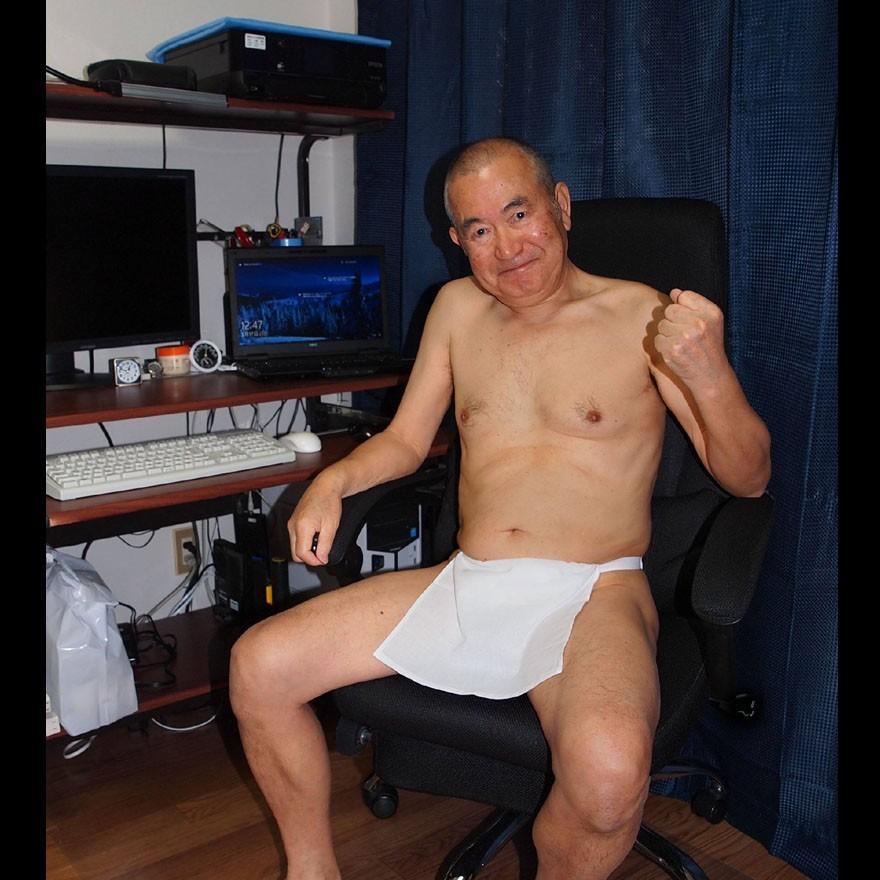 【1b】和田爺謹製越中褌「長寿」(Mサイズ)高級白晒木綿 二枚組 wada-photo 12