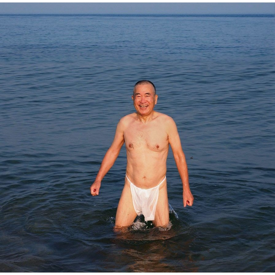 【1b】和田爺謹製越中褌「長寿」(Mサイズ)高級白晒木綿 二枚組 wada-photo 16