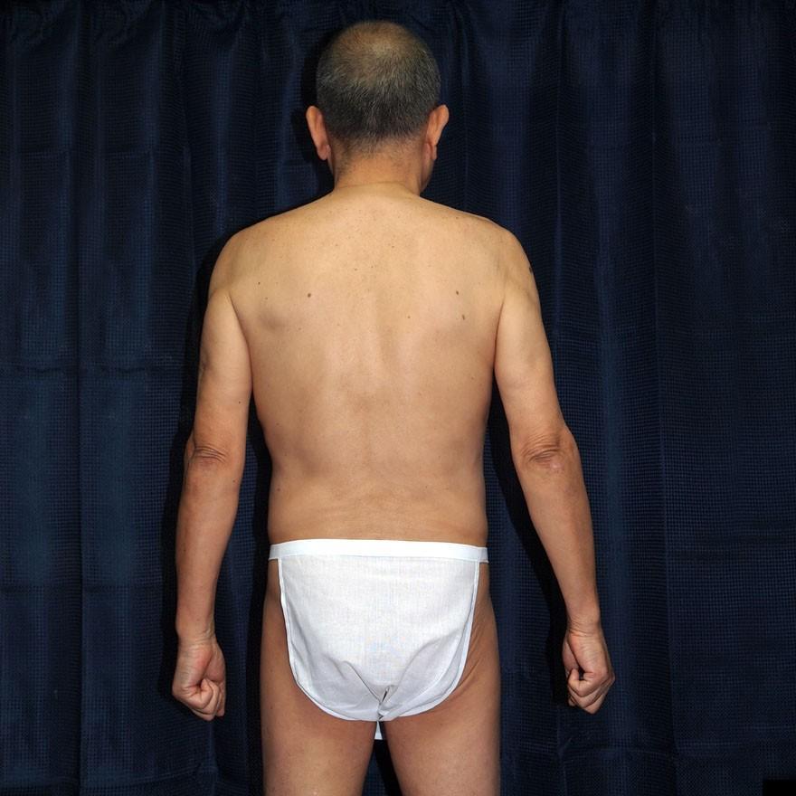 【1b】和田爺謹製越中褌「長寿」(Mサイズ)高級白晒木綿 二枚組 wada-photo 07