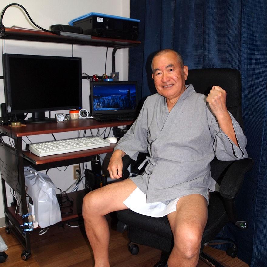 【1b】和田爺謹製越中褌「長寿」(Mサイズ)高級白晒木綿 二枚組 wada-photo 08