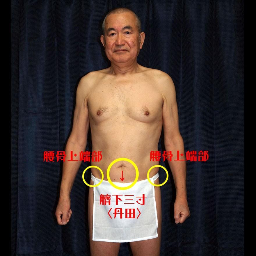 【1b】和田爺謹製越中褌「長寿」(Mサイズ)高級白晒木綿 二枚組 wada-photo 09