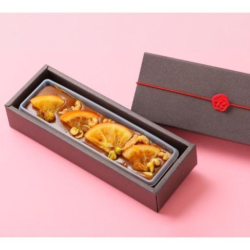 ドライフルーツの羊羹 1本 羊羹 洋風羊羹 プラリネ ドライフルーツ 和スイーツ 和菓子村上 和菓子 金沢 和菓子 ホワイトデー バレンタイン|wagashi-murakami