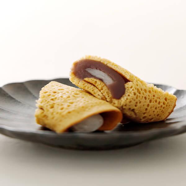 黒糖ふくさ餅【1個】 wagashi-murakami