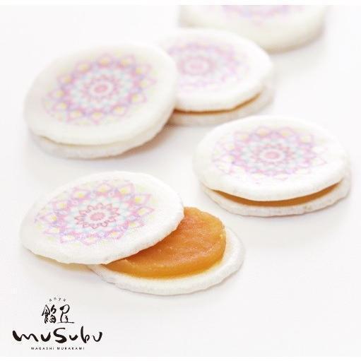 手毬最中 8個入 てまりもなか もなか 最中 麩焼煎餅 ピーナッツバター餡 餡屋musubu 最中 お取り寄せ 和菓子村上 金沢 和菓子|wagashi-murakami