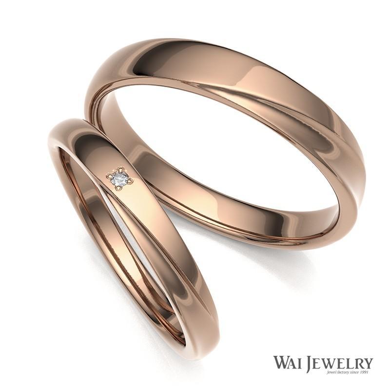 2019新作モデル 結婚指輪 ピンクゴールド マリッジリング ダイヤモンド ペアリング 2本セット 指輪 K18PG, テンポアップ 06d59e9c