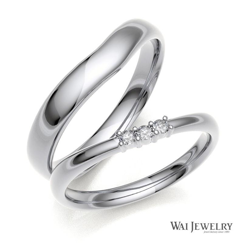 値段が激安 結婚指輪 ホワイトゴールド 2本セット 結婚指輪 マリッジリング ダイヤモンド ペアリング 2本セット 指輪 指輪 K18WG, ネットキング:bd6a5f83 --- lighthousesounds.com