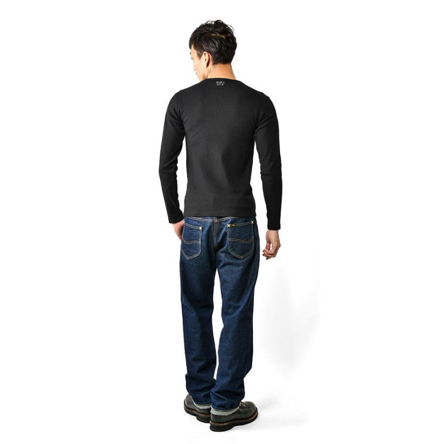ポイント10倍!AVIREX アビレックス 長袖 クルーネック Tシャツ 6153481 メンズ ロンT カットソー 無地 ブランド 送料無料【クーポン対象外】|waiper|05