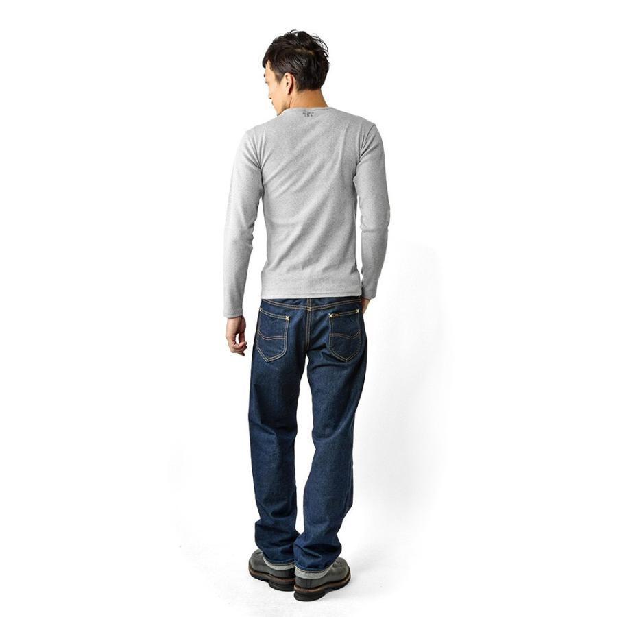 ポイント10倍!AVIREX アビレックス Tシャツ 長袖 ヘンリーネック 6153482 メンズ ロンT カットソー 無地 ブランド 送料無料【クーポン対象外】|waiper|05