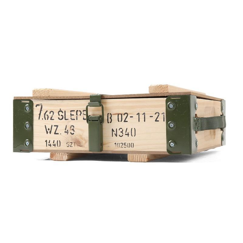 新品 ポーランド軍 アンモボックス メタルフレーム ミリタリー インテリア 家具 収納 雑貨|waiper|04