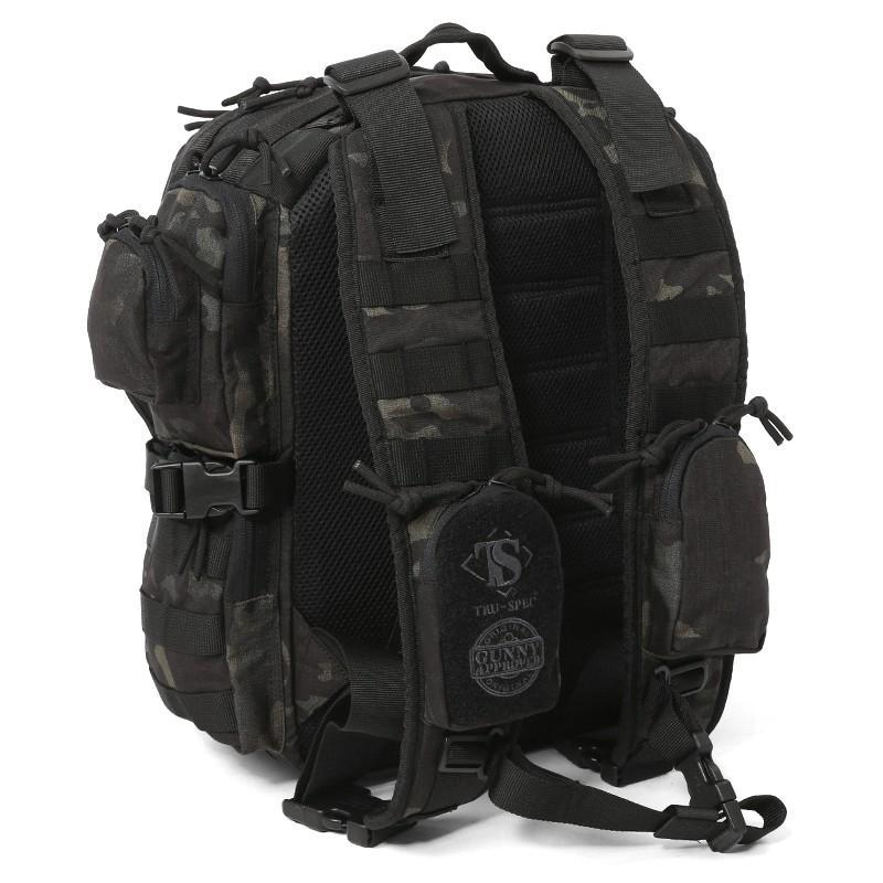 Tru-Spec Black Tour Of Duty Backpack