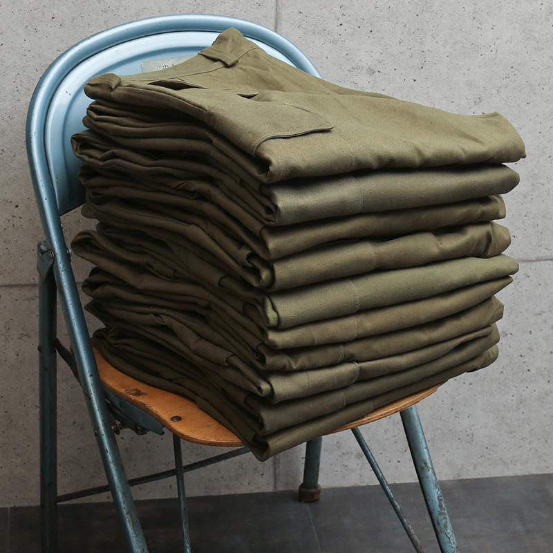希少 実物 新品 デッドストック フランス軍 M-47 カーゴパンツ 前期型 コットン製 メンズ ミリタリーパンツ 軍パン 放出品【クーポン対象外】|waiper|14