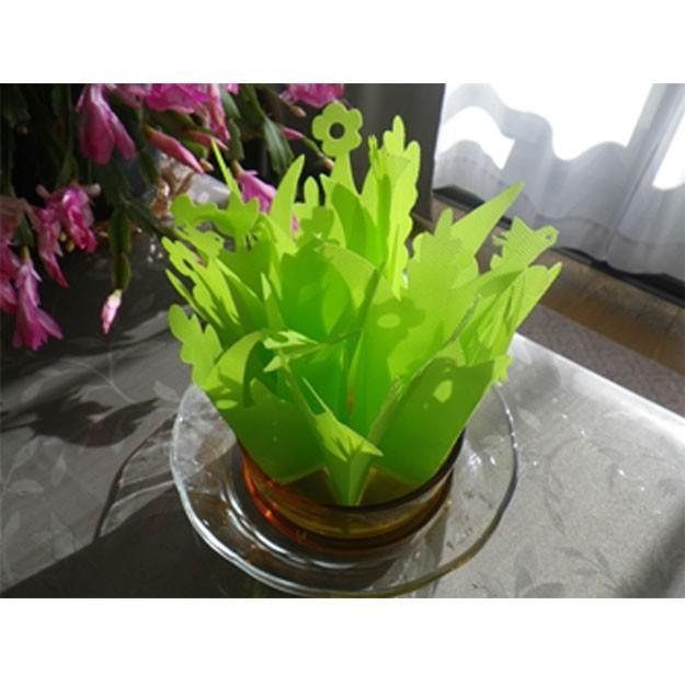 加湿器 ペーパー加湿器 まるで観葉植物 電気不要 気化式加湿器 自然気化式・エコロジー加湿器|wakasugi2012|02