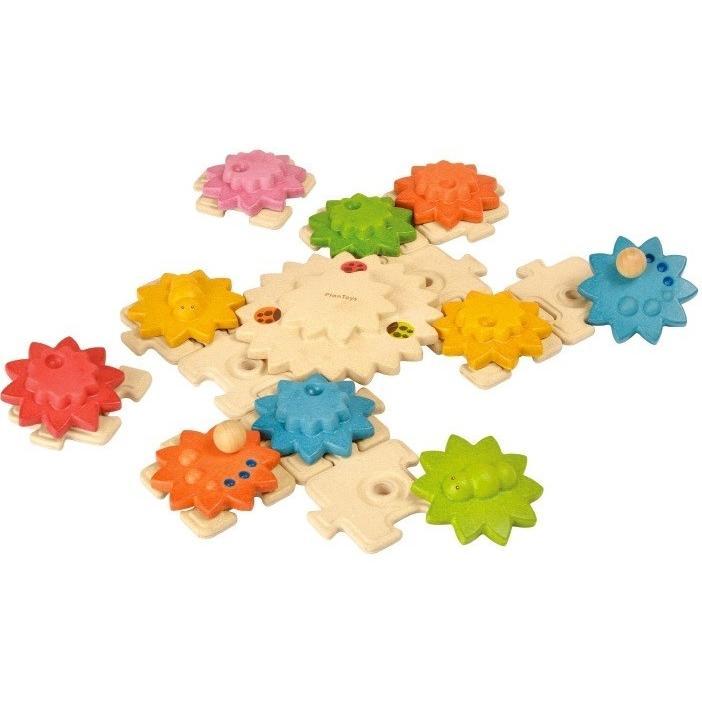 ギアパズルデラックス 5636 プラントイ Plantoys 2歳以上 ベビー キッズ 子供 木製知育玩具 積み木