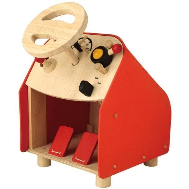 ドライビングシート 2775 プラントイ Plantoys 3歳以上 ベビー キッズ 子供 木製知育玩具 乗用玩具 のりもの