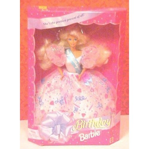 1994 Happy Birthday Barbie Doll Confetti Gown by Barbie