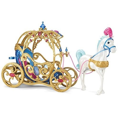 Disney Princess Cinderella Horse and Carriage by Mattel