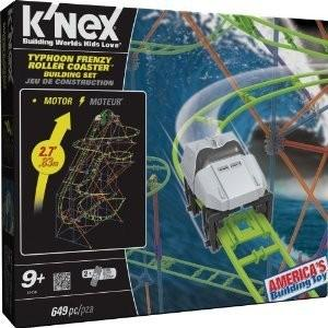 K'nex Typhoon Frenzy Roller Coaster Building Set ブロック おもちゃ