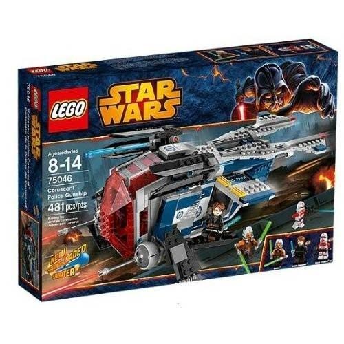 LEGO レゴ STAR WARS 75046 Coruscant Police Gunship