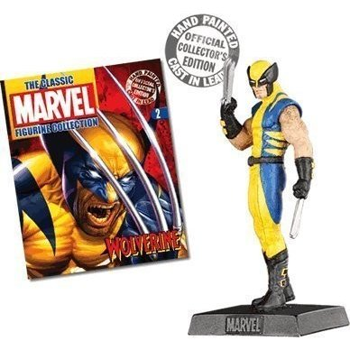Classic Marvel Figurine Collection #2 Wolverine by Eaglemoss Figurines