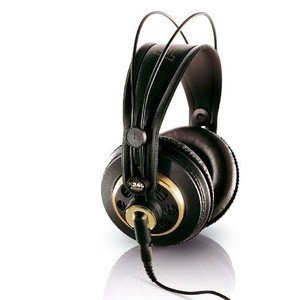AKG K 240 Semi-Open Studio Headphones ヘッドホン(イヤホン)