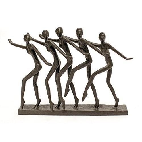 Design Toscano Chorus Dancers Cast Iron Statue by Design Toscano