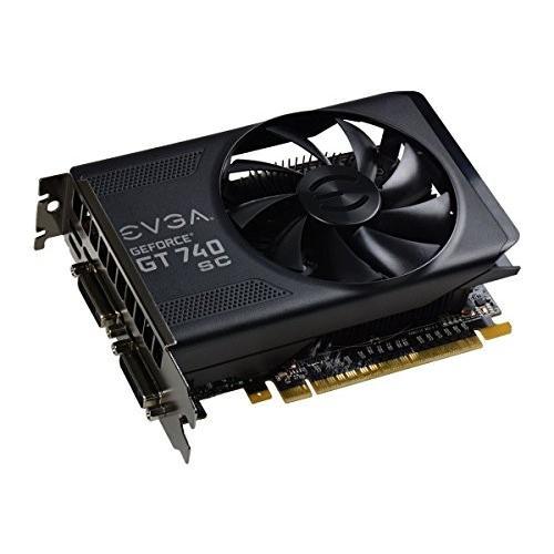 EVGA GeForce GT 740 2GB Super Clocked GDDR5 128-Bit Dual DVI mHDMI Graphics Cards 02G-P4-3747-KR