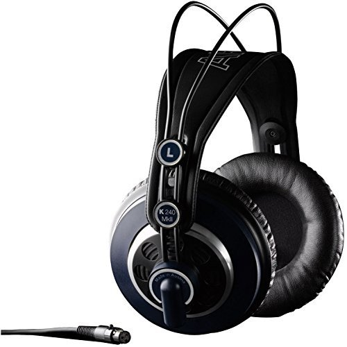 AKG K 240 MkII Studio Semi-Open Circumaural Headphones