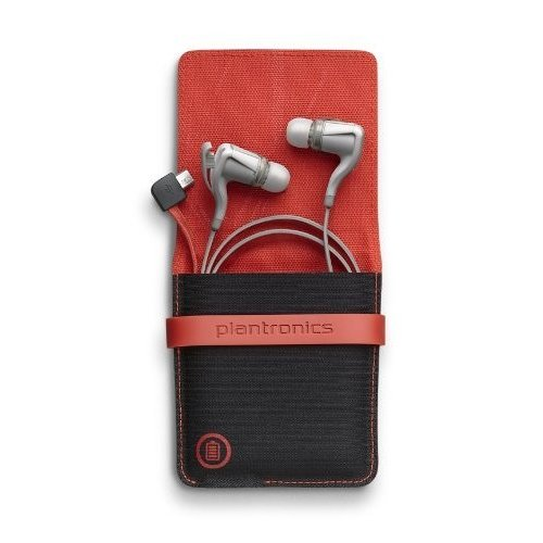 Plantronics BackBeat Go 2 Wireless Hi-Fi Earbud Headphones with Charging Case - Compatible with iP