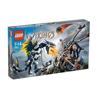LEGO VIKINGS Double Catapult vs. The Armo赤 Ofnir Dragon (7021) by LEGO