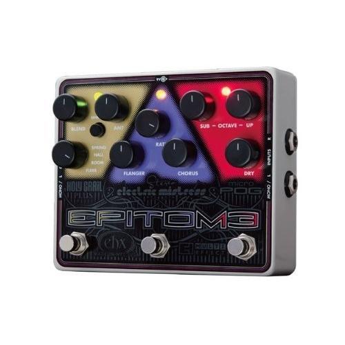 EHX Electro Harmonix Epitome エレクトロ ハーモニクス オクターバー コーラス フランジャー リバーブ