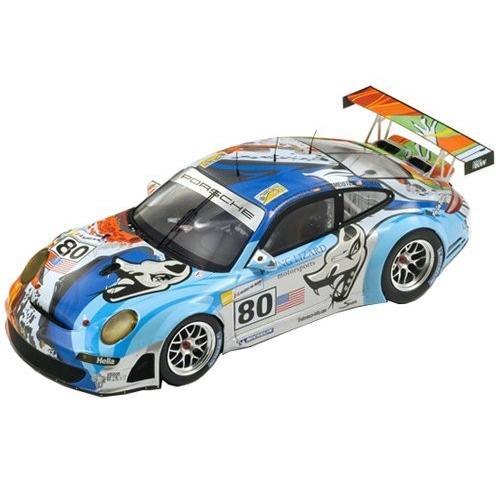 """おもちゃ Porsche 997 GT3 RSR """"Flying Lizard"""" #80 Le Mans 2007 Johannes Van Overbeek / Seth Neiman"""