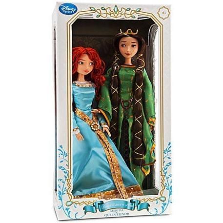 Disney / Pixar BRAVE Movie Exclusive 17 Inch Doll Set Merida & Queen Elinor