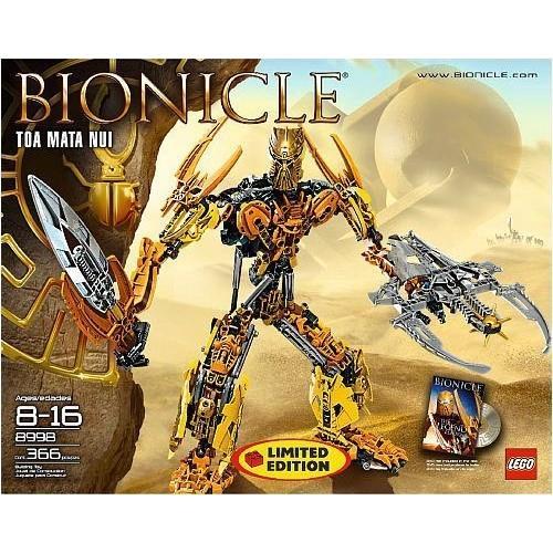 おもちゃ Lego レゴ Bionicle Limited Edition Collector Set #8998 Toa Mata Nui