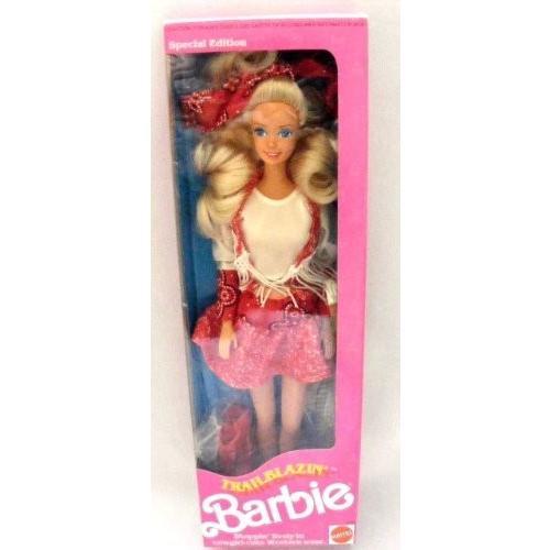 ホビー Trail Blazin Barbie バービー in Western wear. 1991 M.K.L