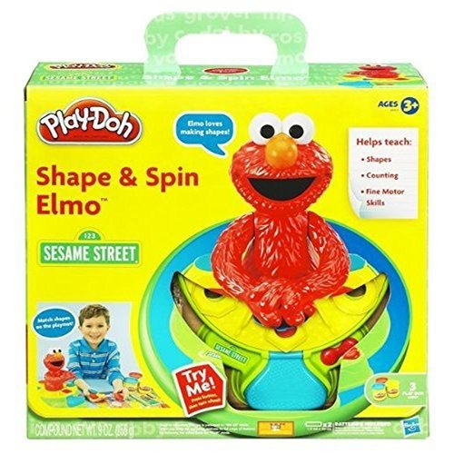 Play-Doh Elmo Shape and Spin Playset by Play-Doh