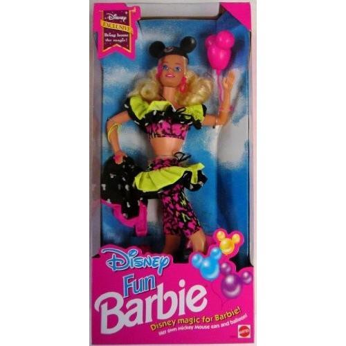 バービー Disney Exclusive 限定 Limited リミテッド Edition Disney Fun Barbie Doll 1992 ドール 人形