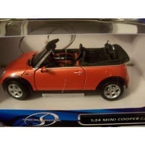 Maisto (マイスト) スペシャルエディション 1:24 ダイキャスト モデルカー ~ オレンジ Mini Cooper (ミニク