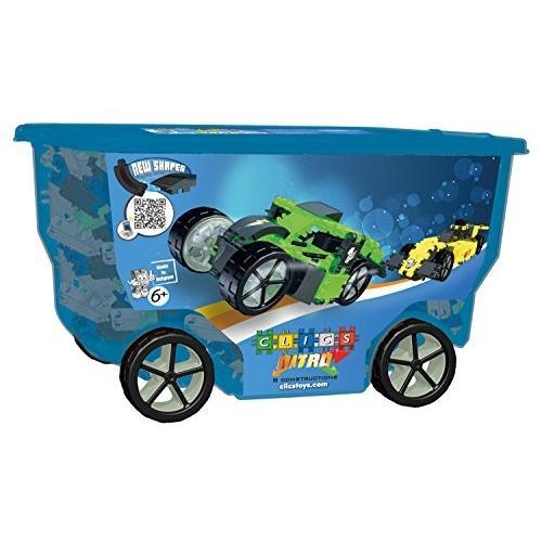 Clics Toys Nitro Rollerbox Toy , 400-piece
